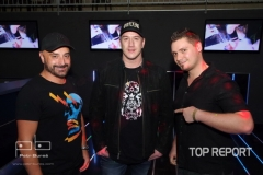 DJ Burian, Tomáš Kraus a DJ Jean Luc