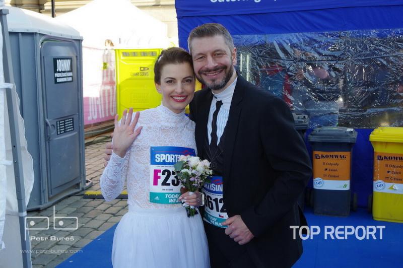 Zatím ještě snoubenci Soňa Kotulková a Michal Hrabec