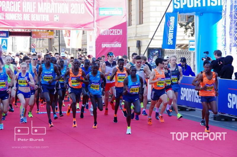 Elitní běžci vyrazili