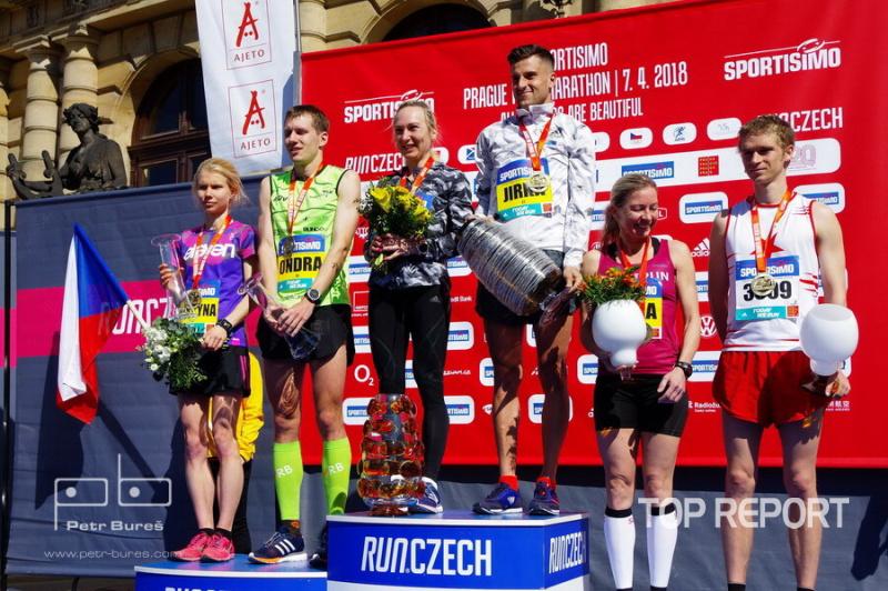 Stupně vítězů českých běžců