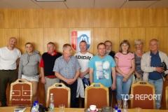 Setkání zahraničních účastníků turnaje se zástupci města Janské Lázně