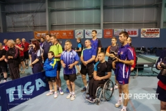 Slavnostní zahájení turnaje o Putovní pohár města Janské Lázně