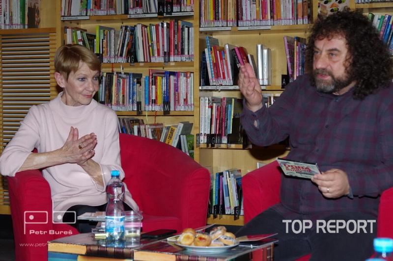 Daniela Kolářová a Vladimír Kroc
