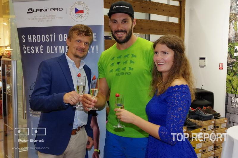 Vladislav Fedoš a Josef Dostál - přípitek