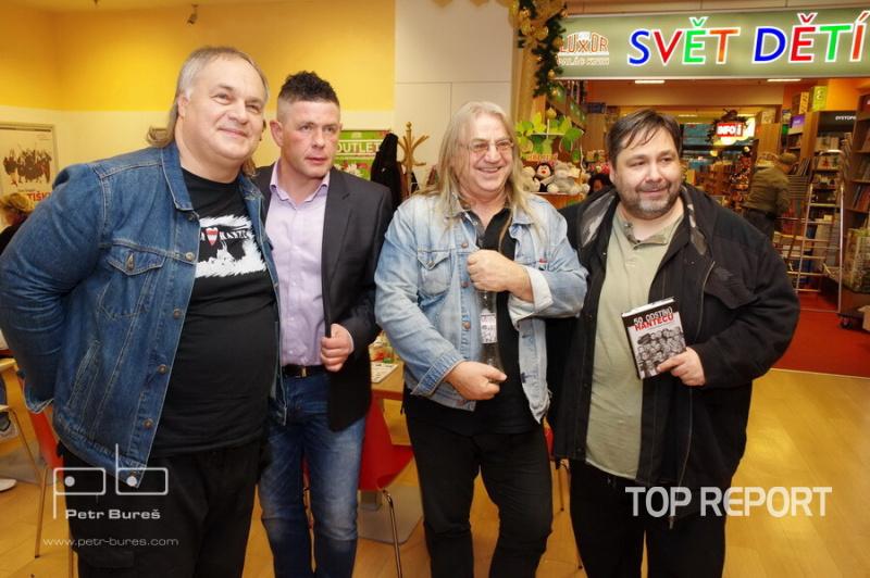 Honza Žanek Hlaváček, Petr Martinák, Libor Machata a Luboš Xaver Veselý