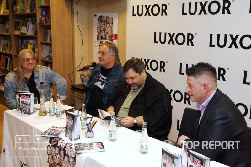 Honza Žanek Hlaváček, Libor Machata, Luboš Xaver Veselý a Petr Martinák