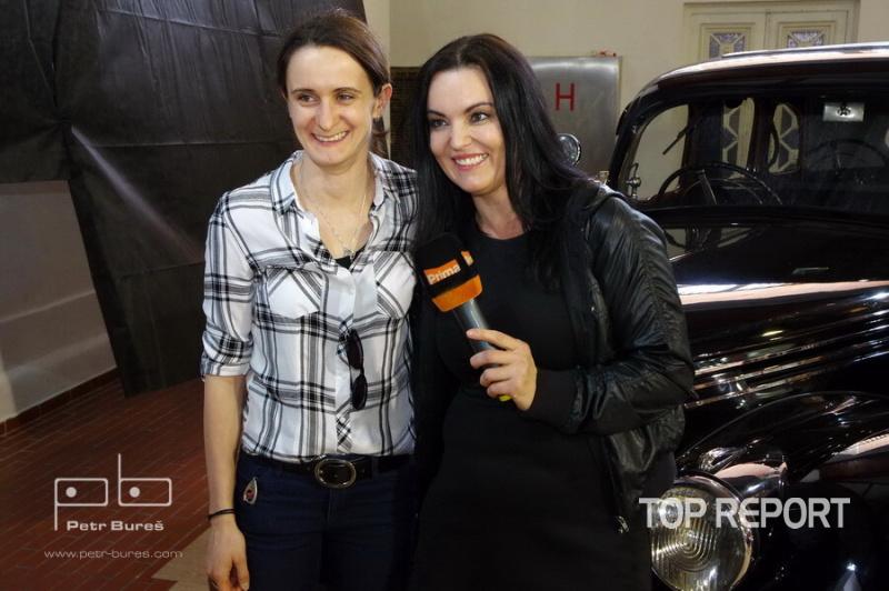 Martina Sáblíková a Daniela Révai