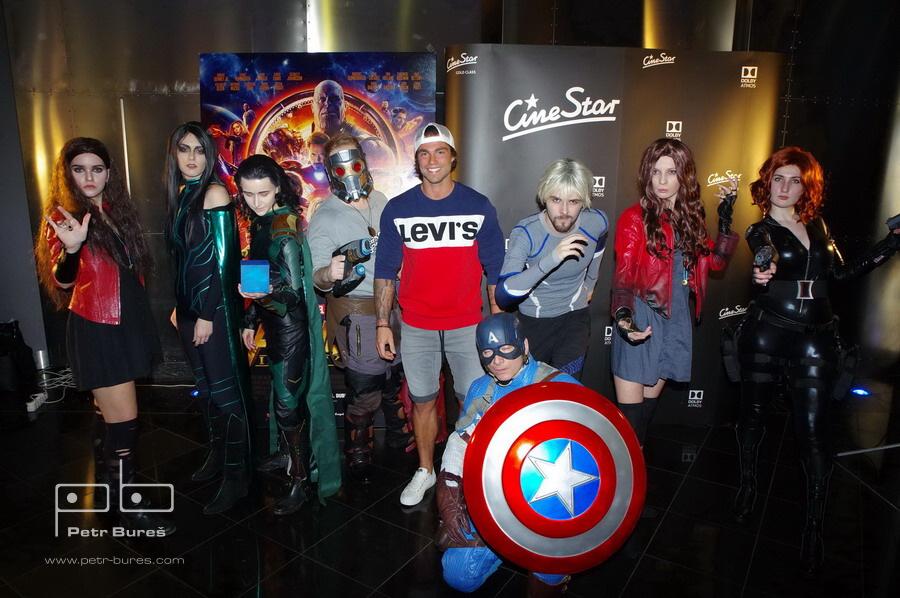 Avengers team a Karel Frýd