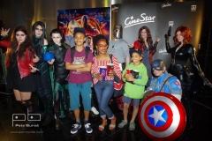 Avengers team a Tonya Graves se syny
