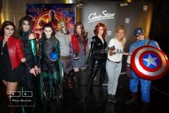 Avengers team a DJ Lucca Lucie Kvasnisová