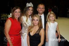 Michaela Habáňová s rodiči a sestrami