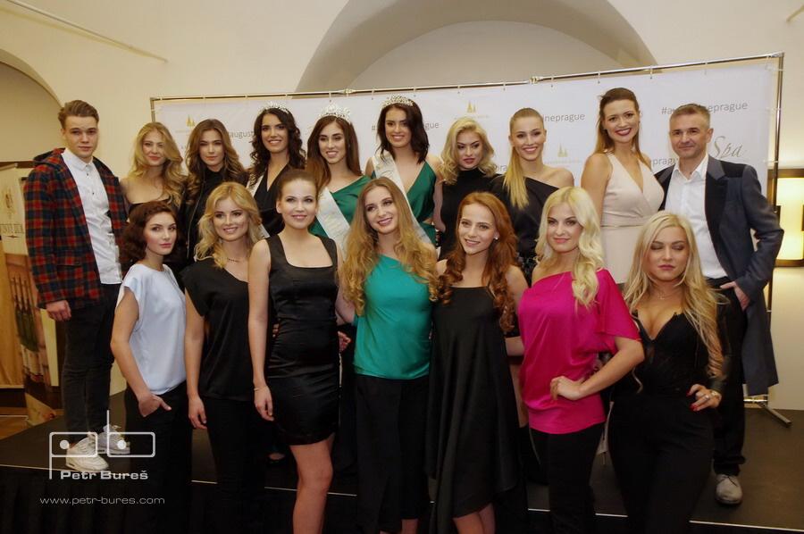 Slavnostní zahájení České Miss 2018