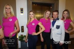 semifinalistky České Miss 2018 a Jan Nedvěd