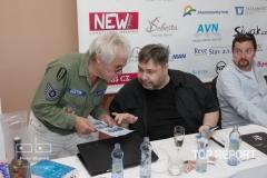 Jan Saudek, Luboš Xaver Veselý a Michal Vieweg