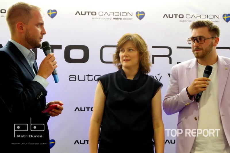 Libor Bouček, Šárka Zoufalá a Filip Vaculík