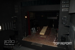 Divadlo Na zábradlí jeviště