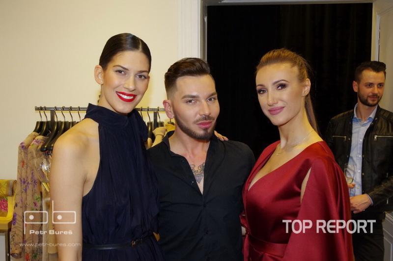 Aneta Vignerová, Sam Dolce a Taťána Makarenko