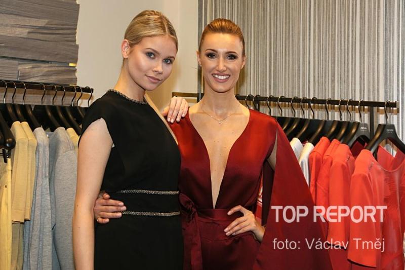 Nicole Ebnerová a Taťána Makarenko