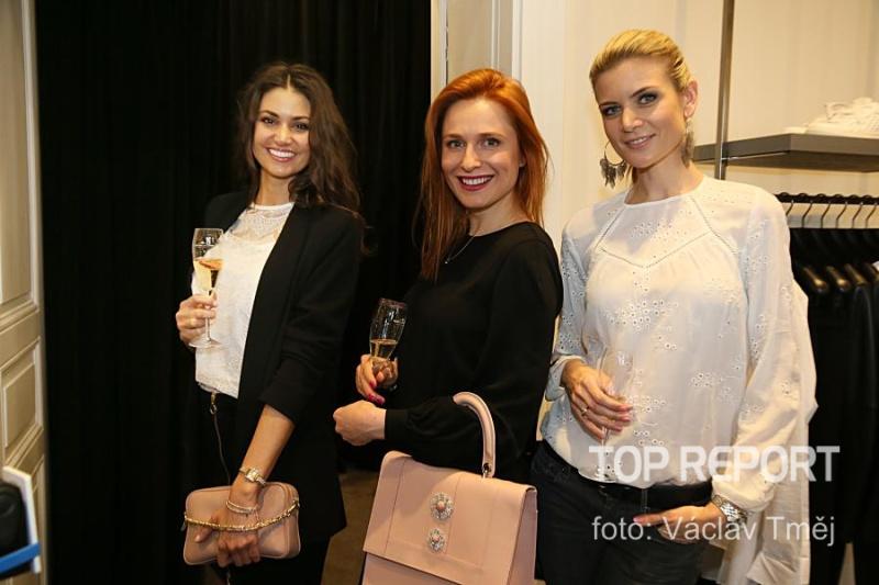 Lucie Smatanová, Romana Pavelková a Iveta Vítová