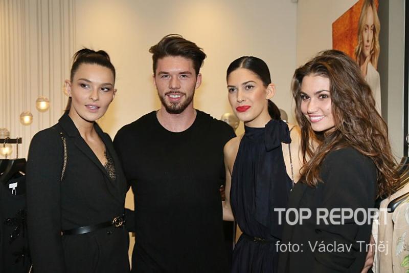 Nikol Švantnerová, Matyáš Hložek, Aneta Vignerová a Lucie Smatanová