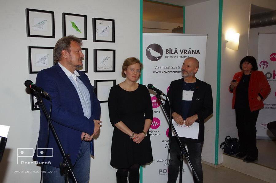 Daniel Hodek, Šárka Táborská a Jan Musil