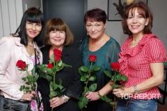 Helena Váňová, Uršula Kluková, Valerie Zawadská a Michaela Dolinová
