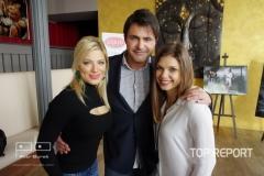 Eva Perkausová, Mirek Šimůnek a Denisa Pfauserová