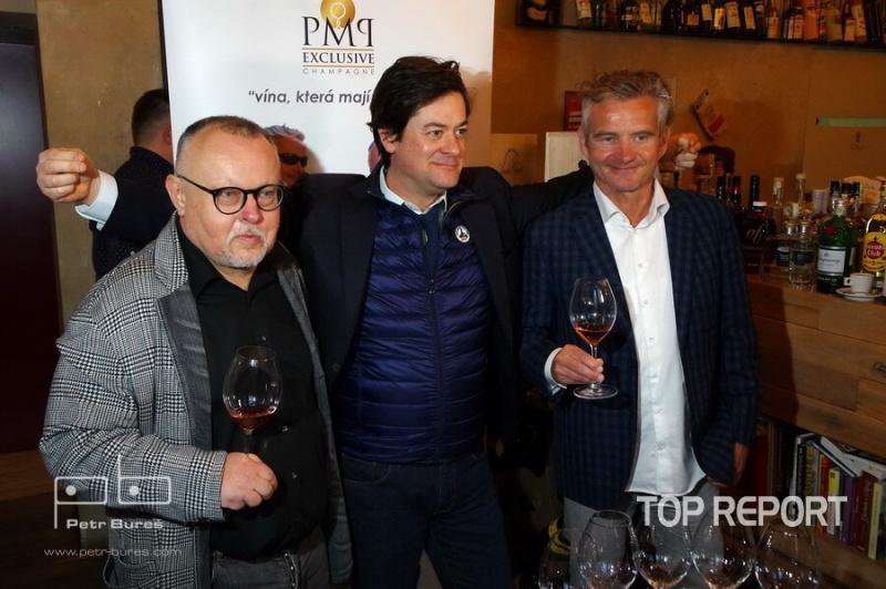 Petr Pečený, Jean-Francois Clouet a Tomáš Magor Doležal