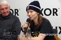 Jiří Krampol a Anna Linhartová