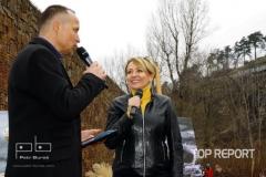 Petr Rajcher a Adriana Krnáčová