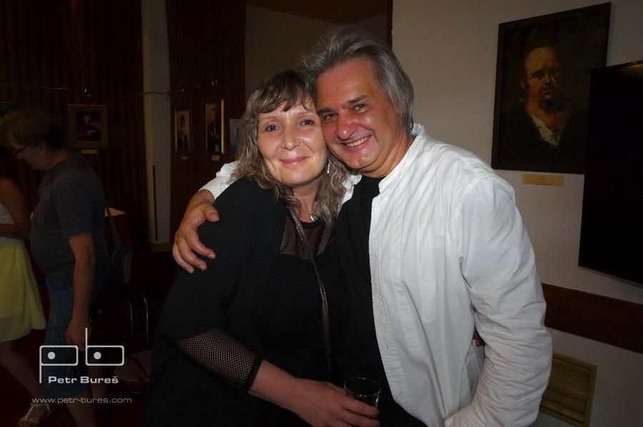 Eva Varga a Slávek Boura