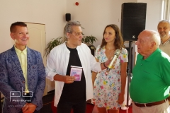 Emerich Drtina, Slávek Boura, Lucie Gelemová a Felix Slováček