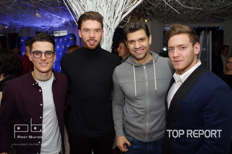 Jakub Kotek, Matyáš Hlošek, Petr Vojnar a Miroslav Dubovický
