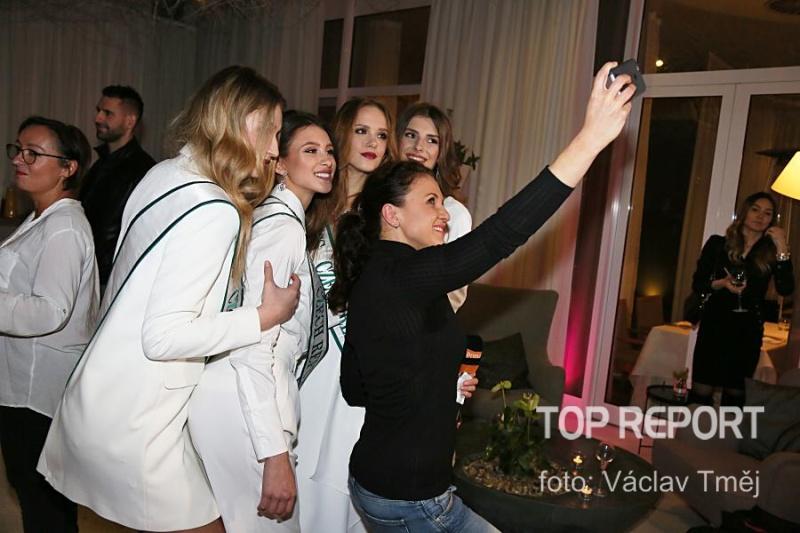 Tisková konference Miss Czech Republic 2018