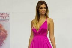 Lucie Kovandová v modelu Miss Paradise
