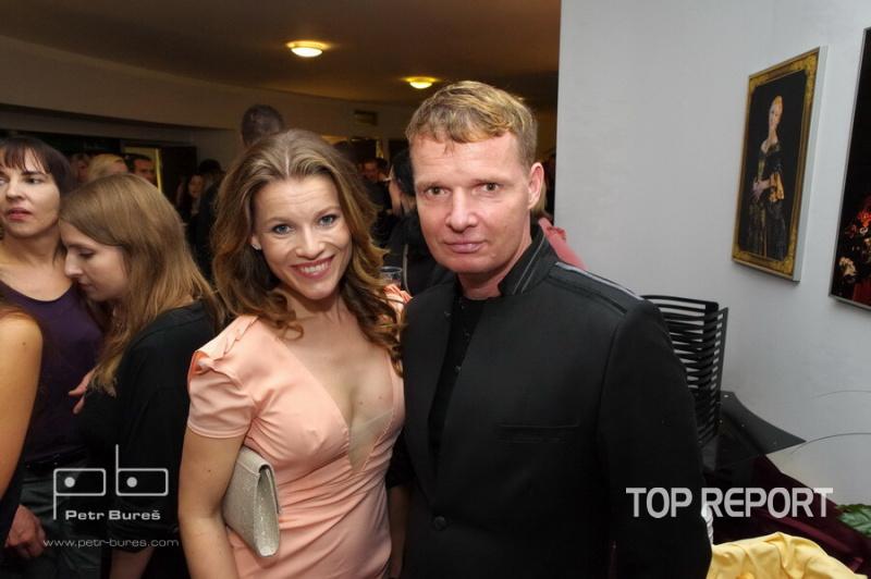 Michaela Germotová a Martin France