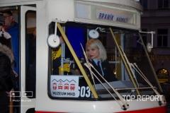 Kabina tramvaje Tatra T1 č. 5002