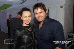 DJ Francy Ivana Kulhánková a Miroslav Šimůnek