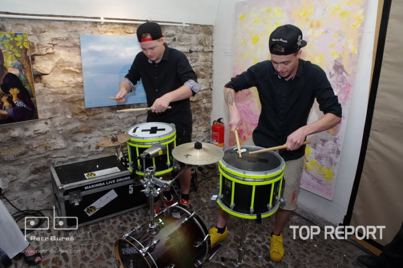 Hudební formace Marimba Live Drums
