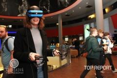 Andrea Kabická u virtuální reality
