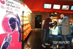 Virtuální realita při premiéře filmu