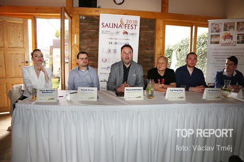 SaunaFest2018 - tisková konference