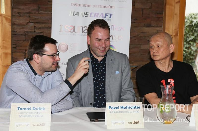 Tomáš Dufek, Pavel Hofrichter a Lay Pang Ong