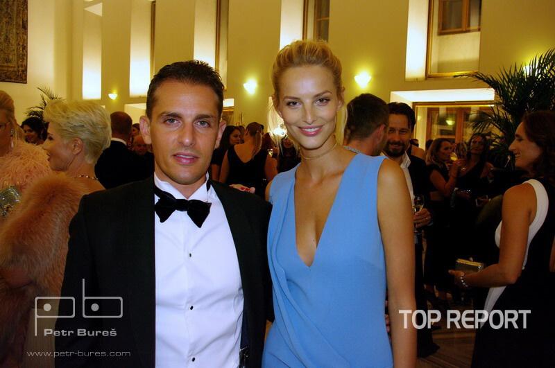 Arran Yentob a Michaela Kocianová