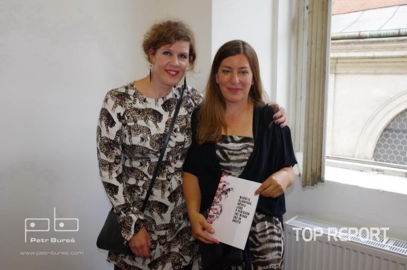 Markéta Hlinovská a Kamila Holcová