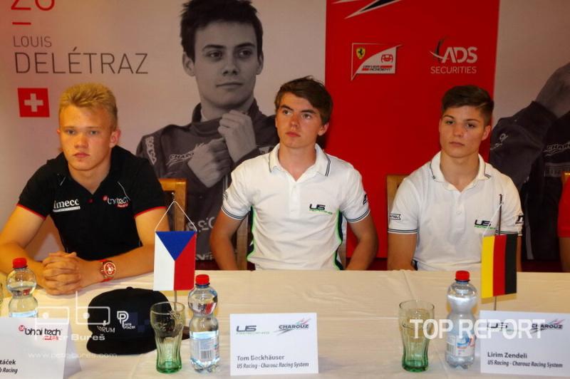 Petr Ptáček, Tom Beckhäuser a Lirim Zendeli