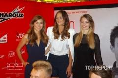 Jana Šišková, Lea Šteflíčková a Tereza Křivánková