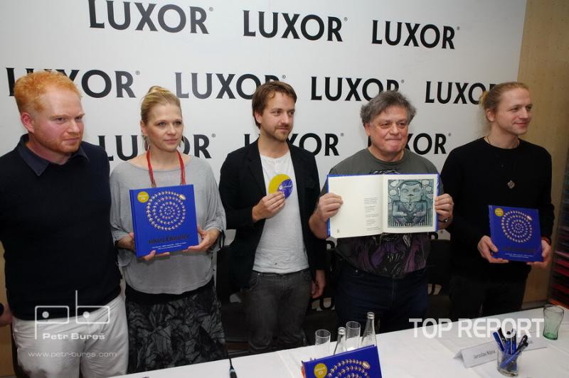 Robin Král, Lucie Šavlíková, Jan Lstibůrek, Jaroslav Róna a Tomáš Klus