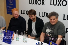 Robin Král, Jan Lstibůrek a Jaroslav Róna
