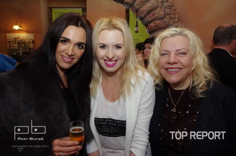 Alena Konečná, Jiřina Jandová a Marie Pojkarová